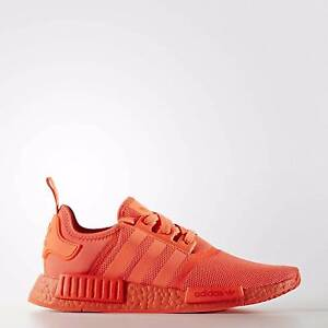 Adidas NMD R1 Solar Red UK10, US10.5, limited edition Melbourne CBD Melbourne City Preview