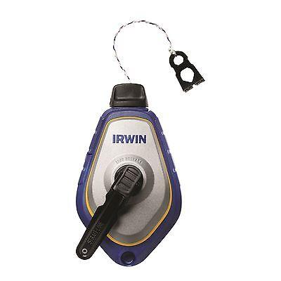 Speedline Pro-chalk Reel (Irwin STRAIT-LINE SPEEDLINE PRO CHALK REEL 30m, 3-Times Faster - USA Brand)