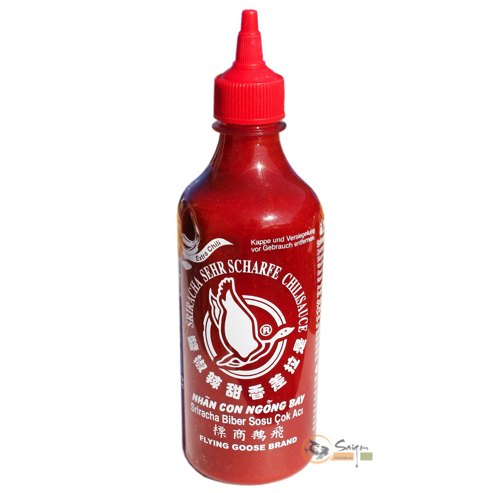 Flying Goose Hot Sriracha Chilisauce 455ml sehr scharfe Chilli Sauce Thailand