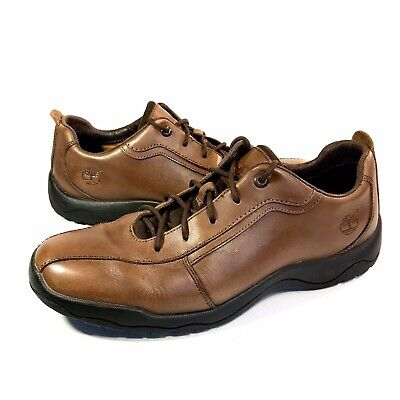 TIMBERLAND 72120 Endurance Mount KISCO Brown Leather Oxford Shoes Men's Size 9M