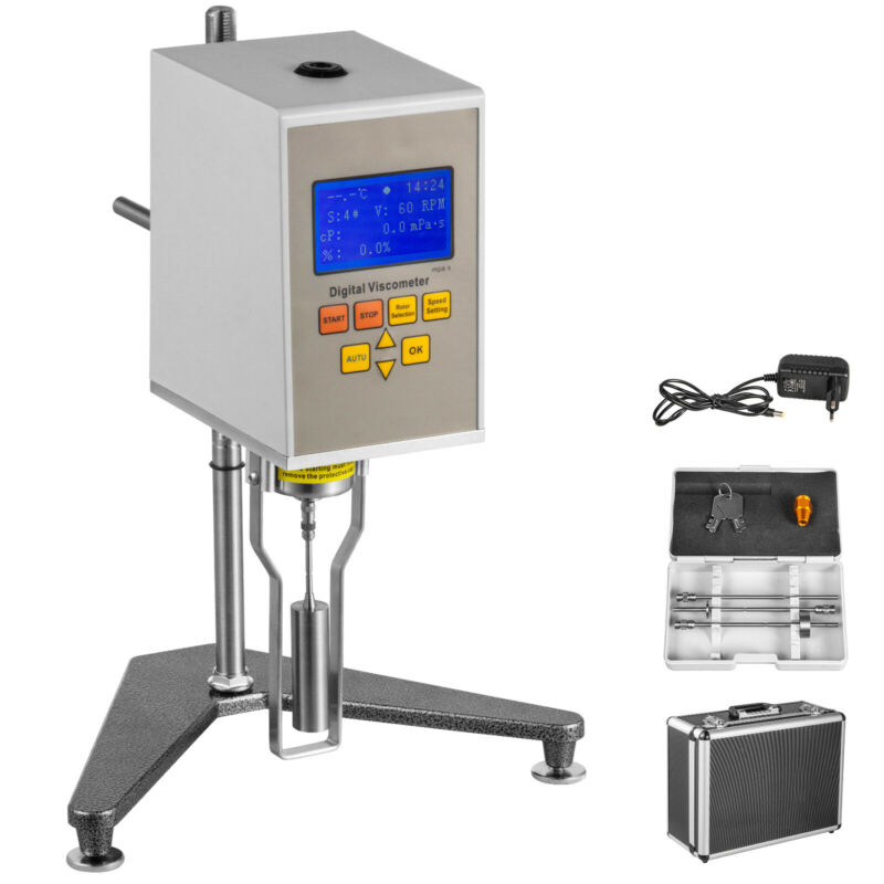 NDJ-5S Rotary Viscometer Fluidimeter Advanced Mechanical Measuring Accuracy