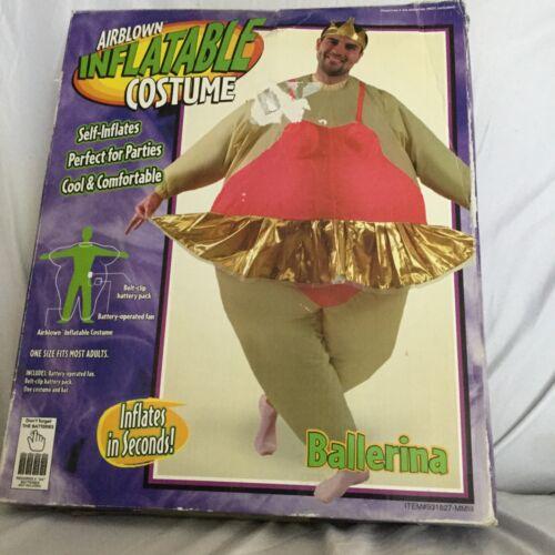 Inflatable Costume Ballerina Adult Halloween Costume Cool Breeze