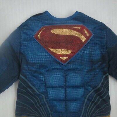 Justice League Superman Kids Costume No Cape - Size L (12-14) - NEW