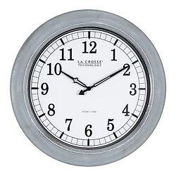 404-1246 La Crosse Technology 18 Indoor/Outdoor Atomic Wall Clock - Refurbished
