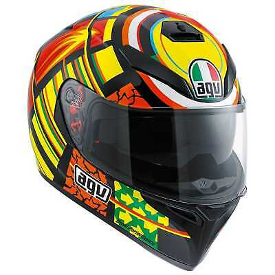 New AGV K-3 SV(Sun-Visor) Helmet, Elements/VR46 Valentino Rossi Replica, XL for sale  Hudsonville