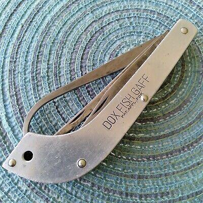 Vintage Antique Shapleigh HDW Fishing Multitool Utility Folding Pocket Knife