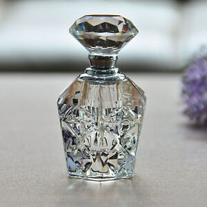Crystal Art Glass Elegant Vintage Perfume Bottle New Design Ladies Fashion Gifts