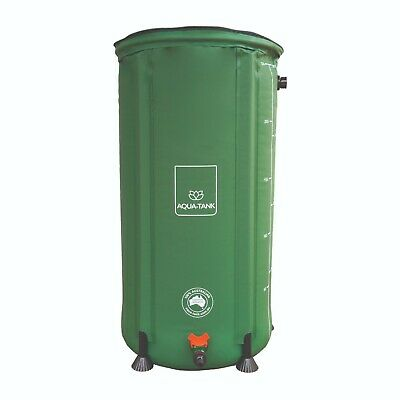 Aqua-Tank 100L Hydro Flexible Water Storage Cannabis Flexi Barrel Nutrient Tank