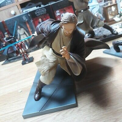 Kotobukiya ArtFX Star Wars Attack of The Clones Obi-Wan Kenobi Figure 1:7 Statue
