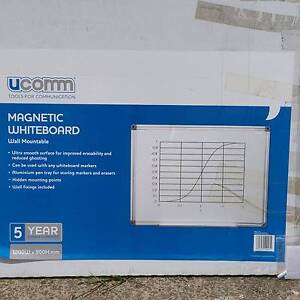 Magnetic whiteboard 1200mm × 900mm Lakemba Canterbury Area Preview
