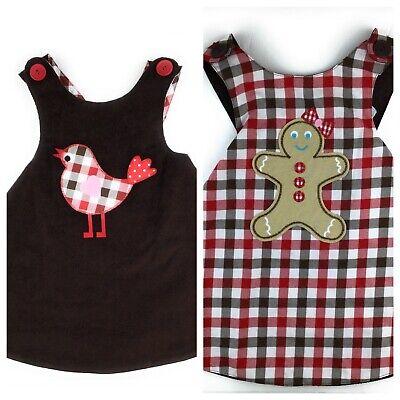 NEW Kellys Kids Dress Girls Size 2 Christmas Fall Reversible Jumper Toddler