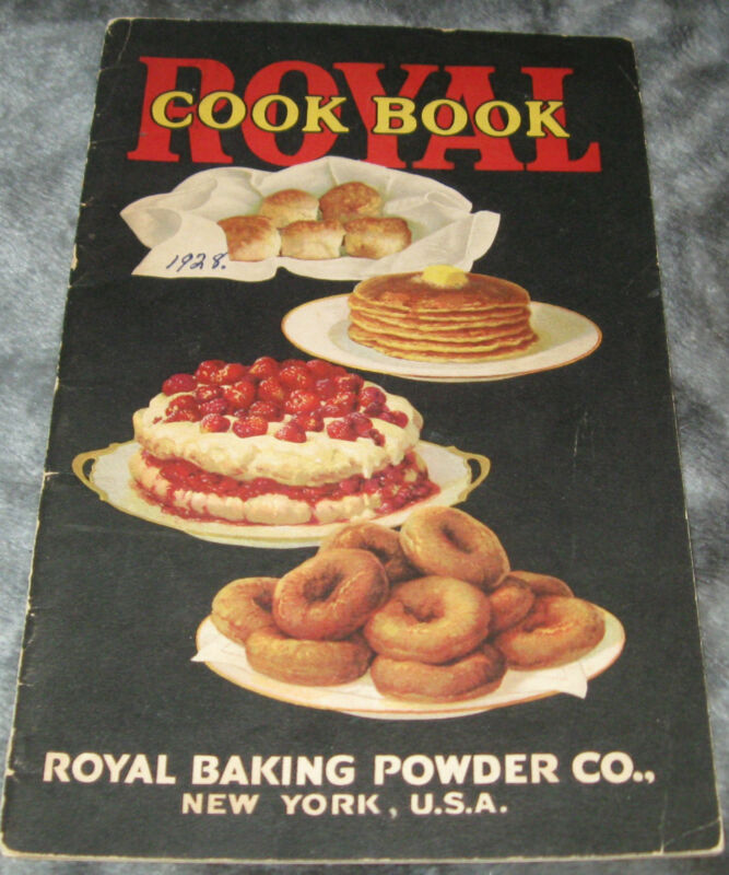 1928 VINTAGE ROYAL BAKING POWDER BOOKLET COOKBOOK