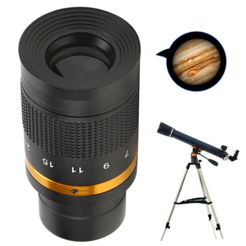 1.25 Inch Telescope Eyepiece 7‑21mm Continuous Zoom Astronomical Telescope Lens