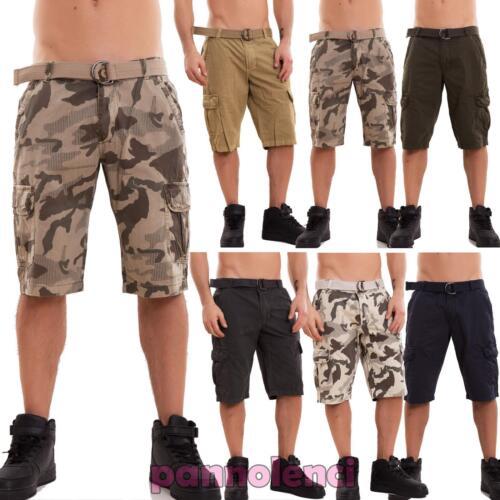 7b55865974b3 Pantaloncini cargo con tasconi laterali e cintura, in vari colori.  Imperdibili!! Materiale: 100% cotone. Questi pantaloni riportano al loro  interno taglia ...