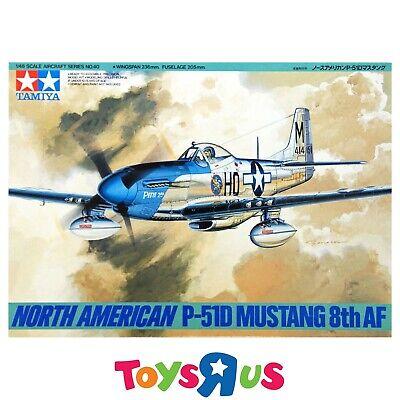 Tamiya 61040 1/48 North American P-51D Mustang 8th AF Model Kit