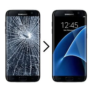 RÉPARATION VITEE BRISÉ BEOKEN SCREEN SAMSUNG S7 edge 140$ s8 200