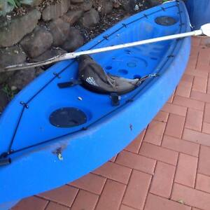 BLUE KAYAK WITH PADDLE Coombabah Gold Coast North Preview