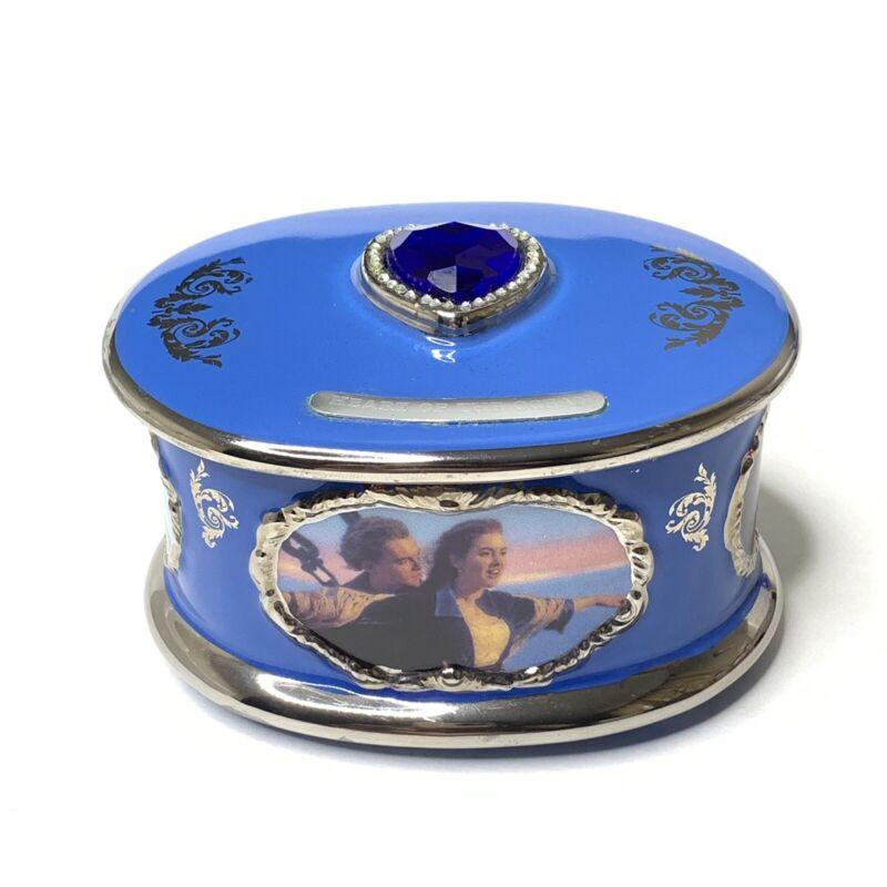 Titanic Porcelain Music Box Ardleigh Elliot Plays My Heart Will Go On New COA