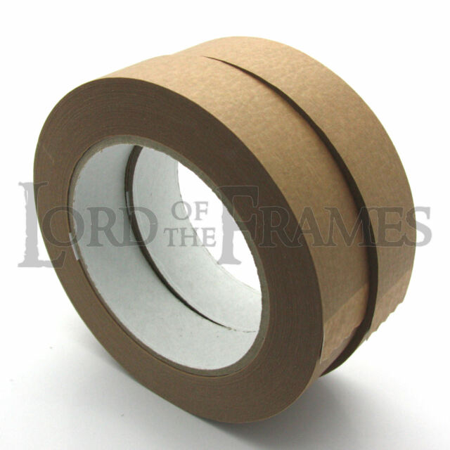 2 X 25mm Picture Framing Backing Sealing Tape Craft Canvas Stretcher ...