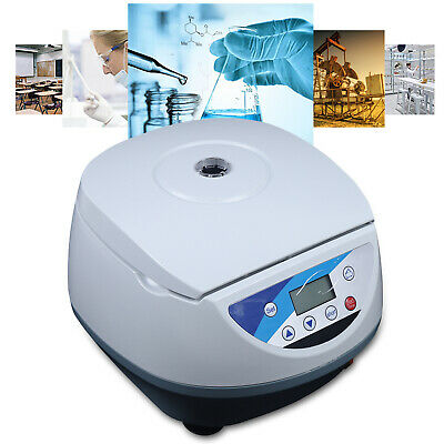 Lab Automatical Electric Prp Centrifuge Lcd Display 615ml 130w
