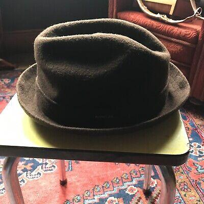 Men's Kangol Wool Player Fold up Pork Pie Hat Large