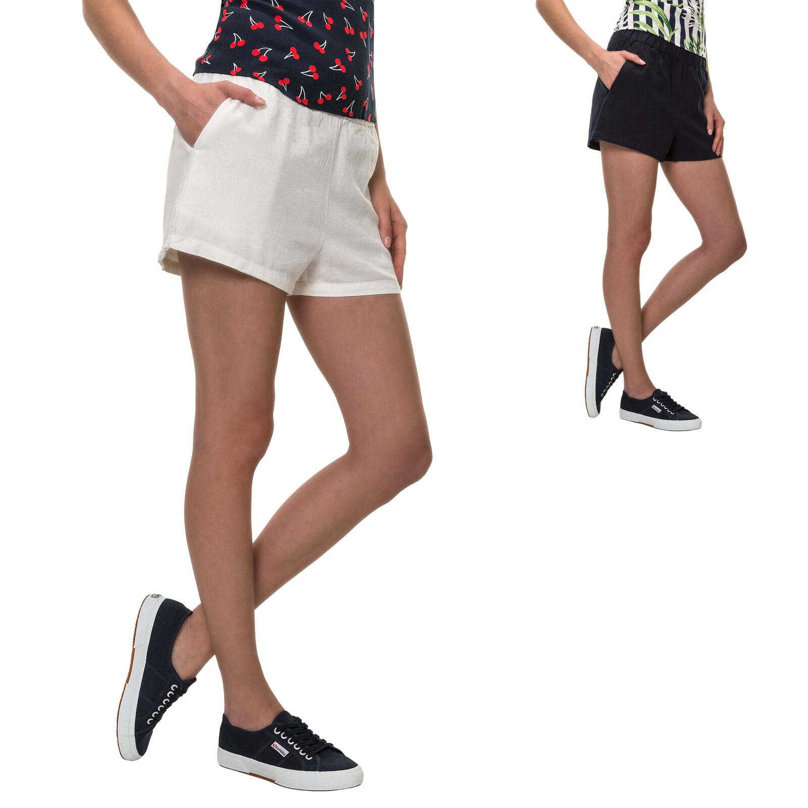 Women's Clothing Shorts Pieces Damen Shorts Radlerhose Bermudas Skinny Fit Stretch Basic Kurze Hose Neu