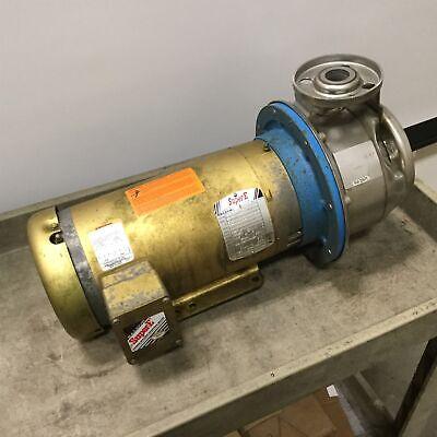 Goulds 9ashk6 Centrifugal Pump With Baldor 35t921q130e7 Motor Impeller 5.38