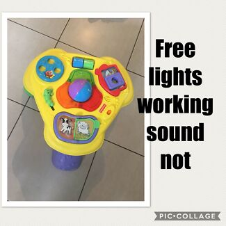 Free activity table