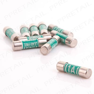 10 Pack Adaptor 1A Fuse For Bathroom Shaver/Toothbrush Plug Socket Replacement