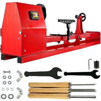 """Wood Lathe 14"""" x 40"""" Power Wood Turning Lathe 400W 4 Speed B"""