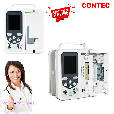 Contec Infusion Pump Rechargable With Audio-alarm Pump-ivfluid Equipment Sp750