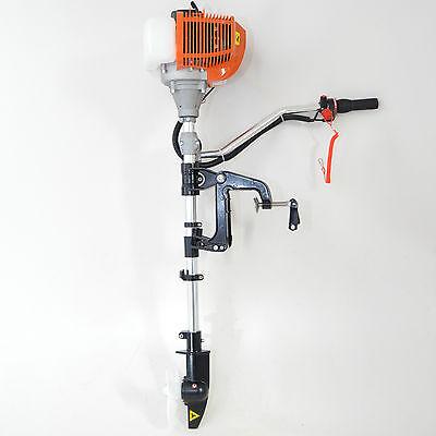 Außenborder Außenbordmotor Bootsmotor 2-takt Luftgekühlt 47,2 ccm !! Neu !!