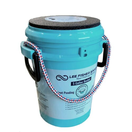 Lee Fisher Sports Padded Bucket Lid Comes with Rope Handle 5 Gallon Bucket