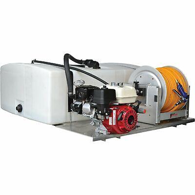 Low-profile 100 Gallon Skid Sprayer Model Pav-s7-110-m-mm