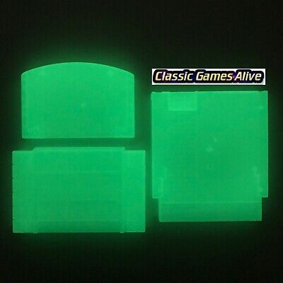 Glow in the Dark Case Cartridge Shell Replacement – NES, SNES and N64](Games In The Dark)