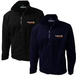 Mens-Regatta-Jacket-Fleece-Micro-Full-Zip-New-Embroidered-TRF557