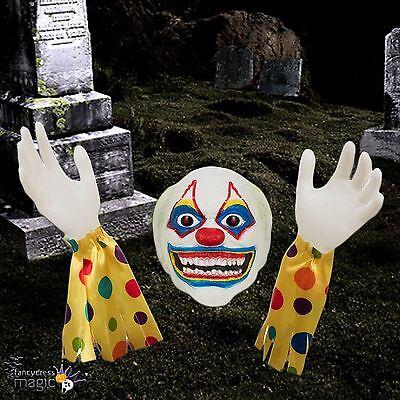 Halloween-friedhof Dekorationen (Halloween Friedhof Außen Evil Zombie Clown Boden Brecher Rasen Dekoration Neu)