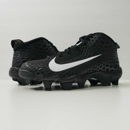 Nike Force Zoom Trout 5 Molded Baseball Cleats Black White Various Youth Sizes