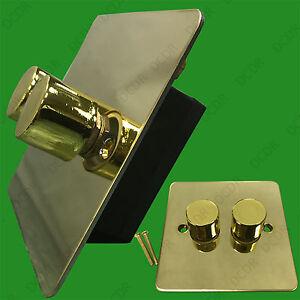 Ottone-A-2-Fori-2-Vie-Lampada-Variatore-Pomello-40W-400W-200V-250V