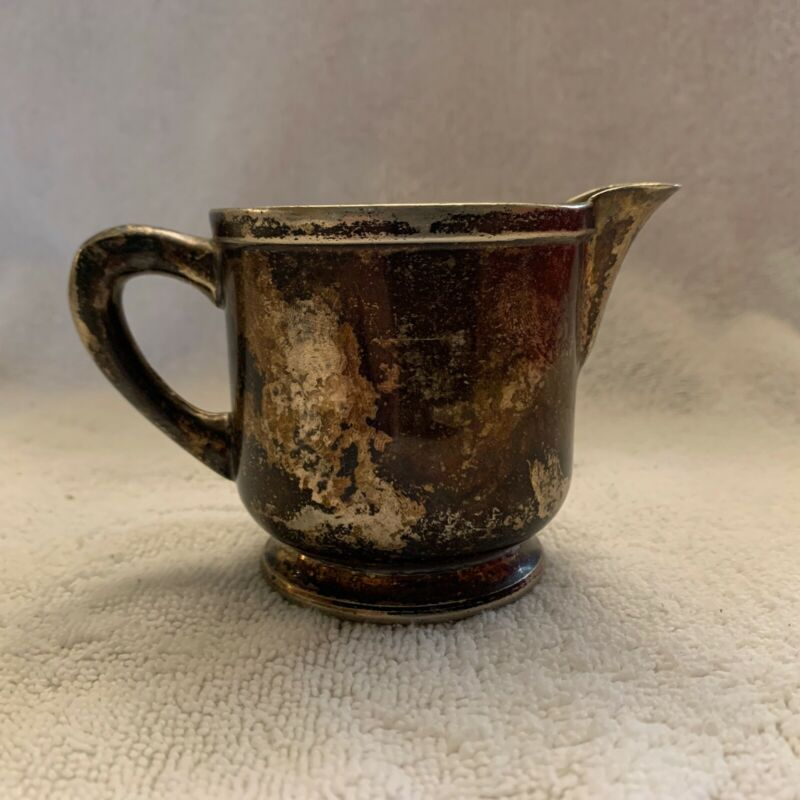 """Wear Brite Small Vintage Creamer Approximately 2 3/4"""" Tall"""