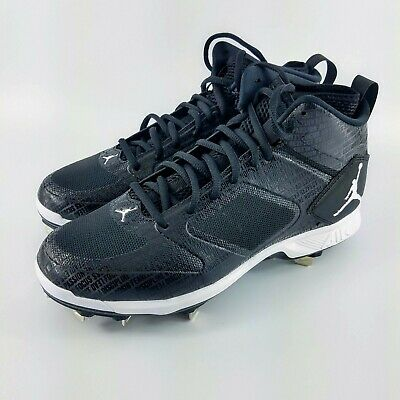 41bfb49157458a Nike Jordan Jeter Lux Baseball Metal Baseball Cleats - Black - AO2914-002 -  Sz 8
