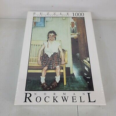 Fink & Company Norman Rockwell The Shiner 1000 Piece Puzzle
