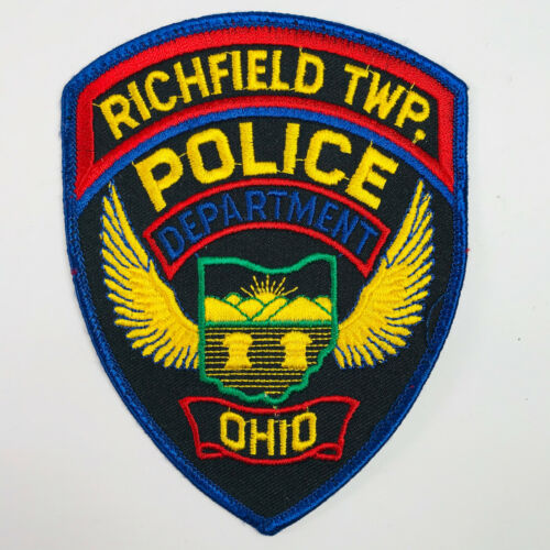 Richfield Township Police Ohio OH Patch (A1)