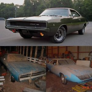 WANTED muscle cars