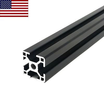 Black 3030 30mmx30mm Aluminum T-slot Aluminum Extrusion - 600 Mm Cnc 3d Printer
