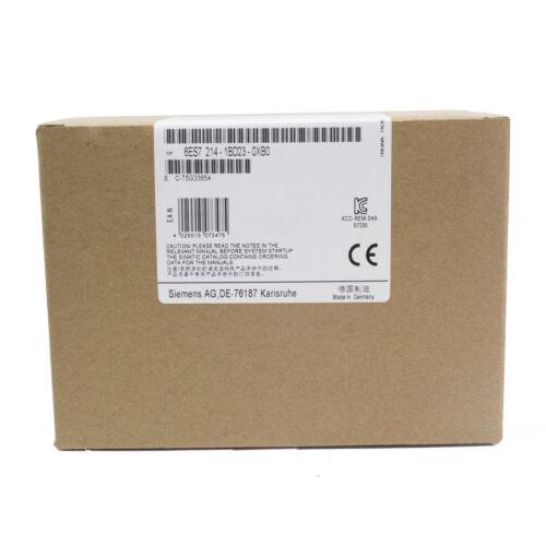 NEW SIEMENS 6ES7 214-1BD23-0XB0 6ES7214-1BD23-0XB0 CPU Module Made In Germany