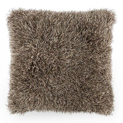 Shag Decor Accent Throw Pillow 25 Inches Thick Fluffy for Couch Floor Bed Huge Accent Pillows For Beds