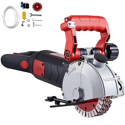 Vevor 5 Wall Slotting Machine 4000w Electric Wall Chaser Groove Concrete Saw