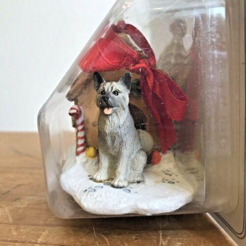 Akita Christmas Ornament Gingerbread Dog House Ornament Gift New