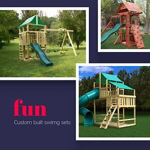 Quality built playsets